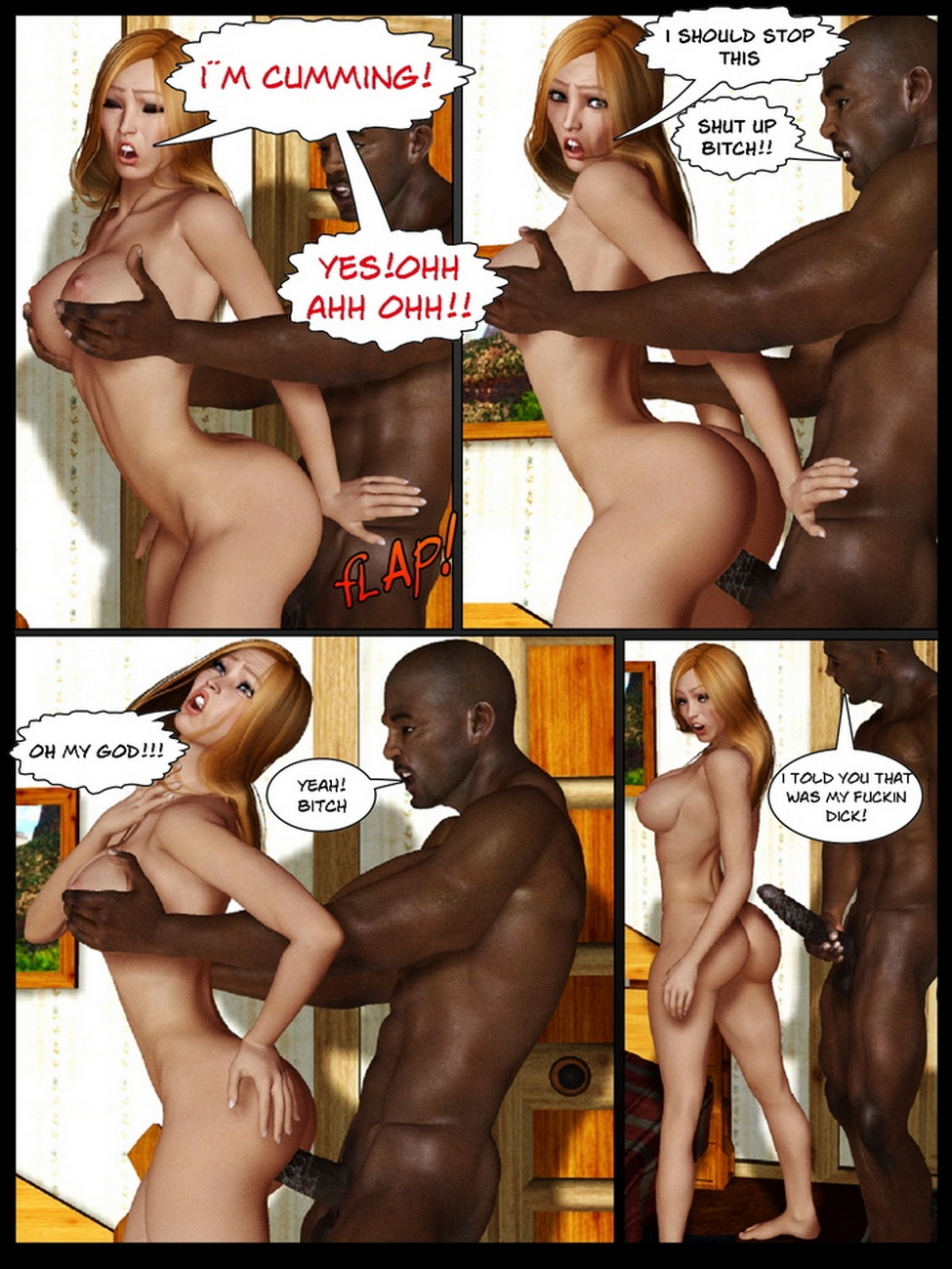 Candie Your First Time A Black Man - part 3