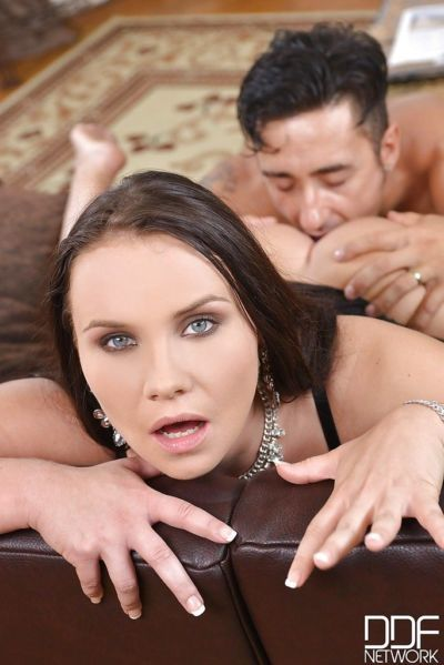 European ball licker Wendy Moon taking brutal vaginal and anal banging - part 2