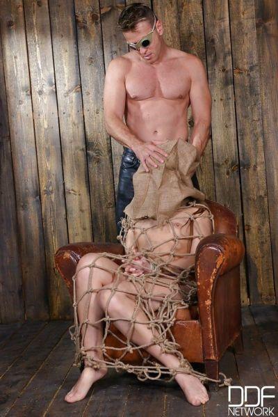 BDSM enthusiast Taissia Shanti taking hardcore anal and vaginal fucking