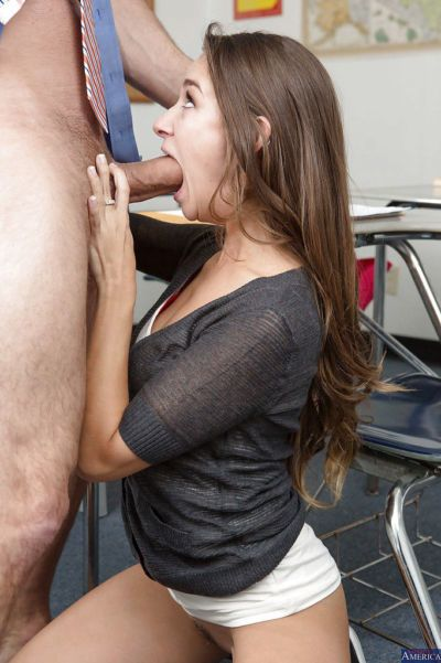 Though Cassidy Klein has small tits she has a very good mouth - part 2
