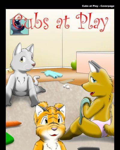 [Kitsune Youkai] Cubs at Play