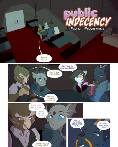 [Zeiro- Robin Wright] Public Indecency