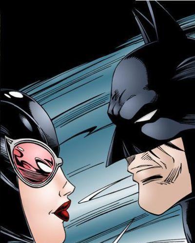 バットマン interrogates キャットウーマン